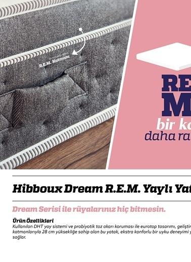 Hibboux Dream R.E.M. Yaylı Yatak 150x200 Renksiz
